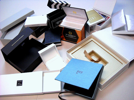 examples of our custom presentation boxes