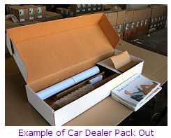example photo of car dealer pack out